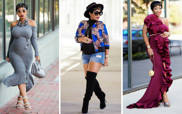 Pregnant and slaying: Chic Ama redefines maternity style - Maternity ...
